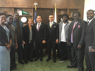 Olango Family Meets With Todd Gloria to Discuss Current Issues
