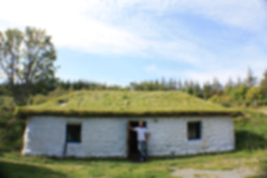 James infront of the Bothy.JPG
