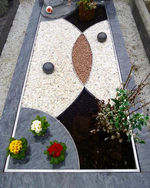 Granit Grabsteine Grabgestaltung Edelstahl Design 31 März2013 142