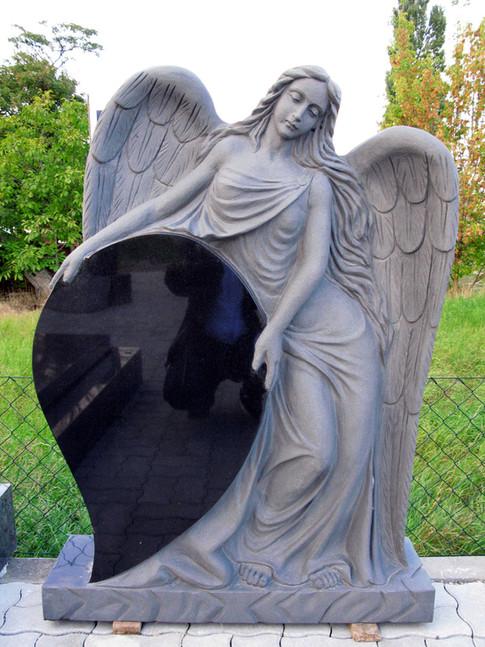 Engel, Engelsfiguren, Skulpturen, Marmor, Engel 2