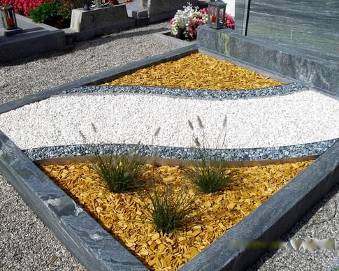 Granit Grabsteine Grabgestaltung Edelstahl Design 52 Anfang August 10 264