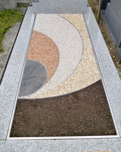 Granit Grabsteine Grabgestaltung Edelstahl Design 19 FH Doebling 046