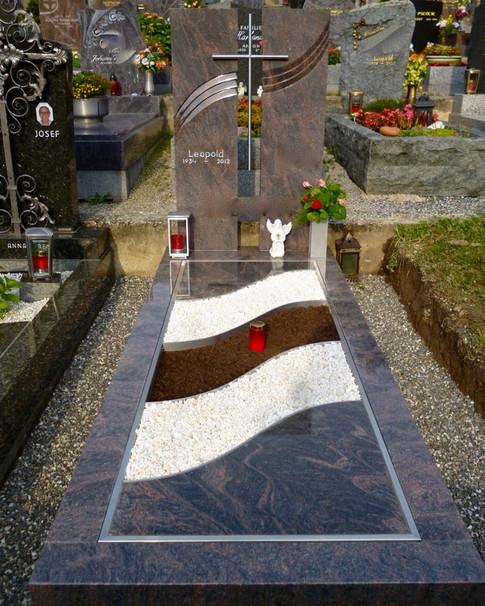 Granit Grabsteine Grabgestaltung Edelstahl Design 16 Juni 2013 112