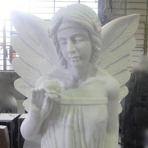 Engel, Engelsfiguren, Skulpturen, Marmor, Engel 1