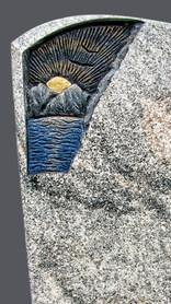 Granit Grabsteine Mittlböck Natursteine Material Viscont White