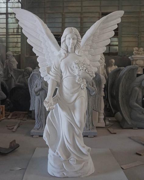 Engel, Engelsfiguren, Skulpturen, Marmor, Engel 3