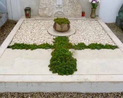 Granit Grabsteine Grabgestaltung Edelstahl Design 38 Kopie von Sept.2012 078