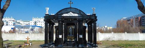 Gruft, Jet Black, Friedhof Kagran