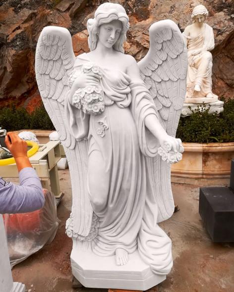 Engel, Engelsfiguren, Skulpturen, Marmor, Engel 6