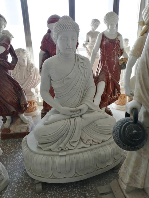 Buddha Skulpturen, Granit, Marmor, Wien