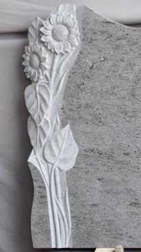 Granit Grabsteine Mittlböck Natursteine Material Lavendel Blue Marina Blue Light