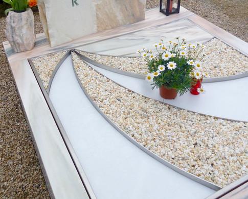 Granit Grabsteine Grabgestaltung Edelstahl Design 30 April2013 103