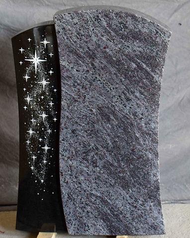 Modell_85359,_Grabsteine,_Granit,_Mittlb