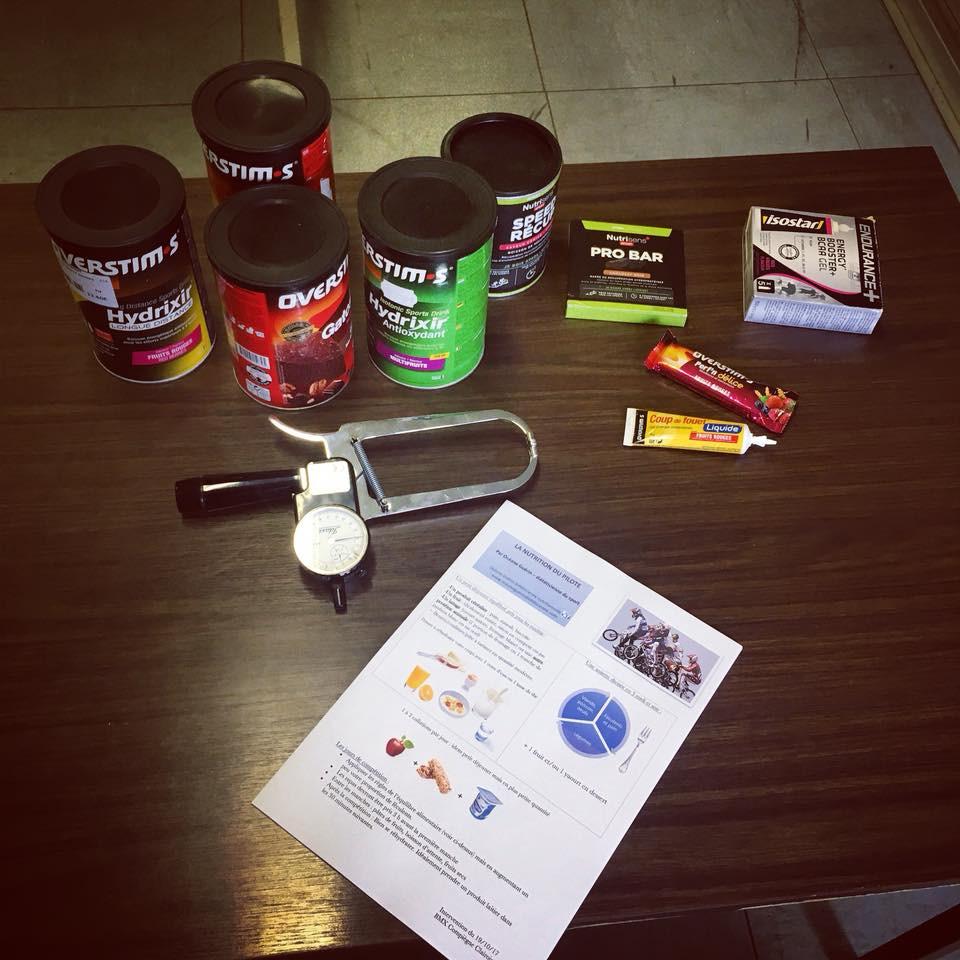 Intervention nutrition du sportif organisée par le BMX Club de Clairoix
