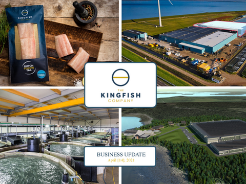 Upcoming April 14th business update by The Kingfish Company [Euronext:KING]