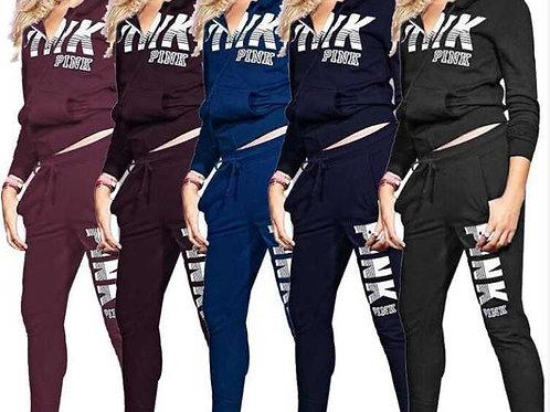 PINK 2-Piece Sports Suit