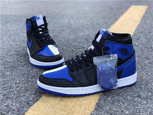 AJ1 - Royal Blue & Black (Men Sizes)