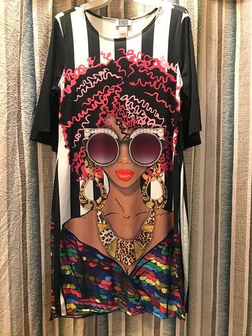 DIVA FRO SHIRT/DRESS