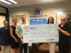 Partners in Care donation