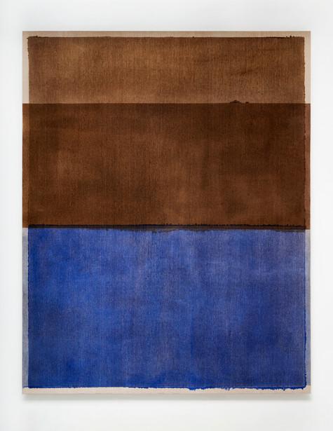 Burnt Umber and Ultramarine Blue I, 2020
