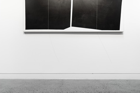Installation view: Untitled II (Deliberate Pictures Series), 2020