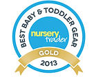 Anti-scratch teething mitten gold award 2013