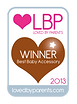 Loved By Parents Award 2013 for teething glove