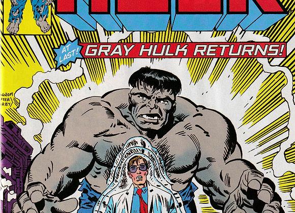 True Believers Incredible Hulk Gray Hulk Returns Issue/ # 1 Marvel Comics