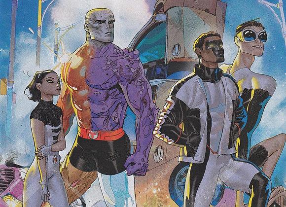 The Terrifics Issue/ # 20 Variant Cover DC Comics - Comics