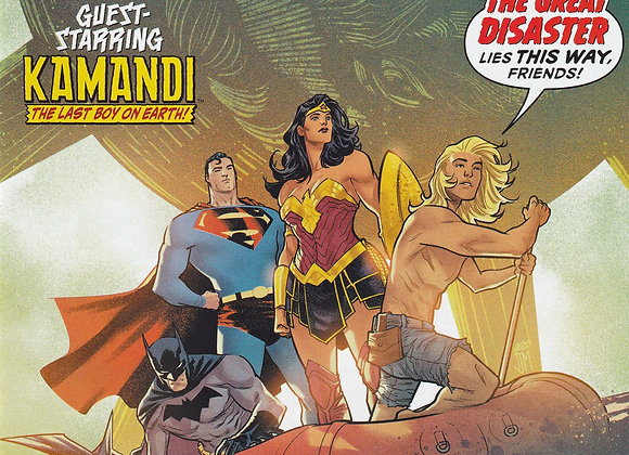 Justice League Issue # 32 Guest Starring Kamandi The Last Boy On Earth DC Comics