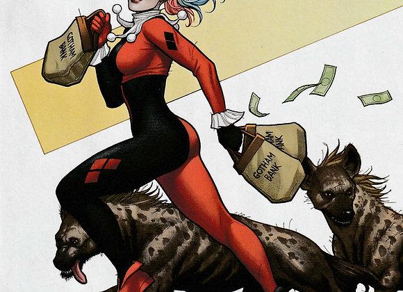 Harley Quinn Issue/ # 65 Fixed It Variant Cover DC Comics - Comics