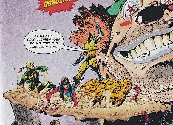 Crazy Issue/ # 1 The Revenge Of Obnoxio Marvel Universe Comics  - Comics