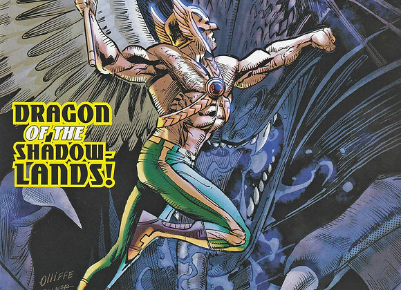 Hawkman Issue/ # 16 Dragon Of The Shadow Lands DC Comics - Comics