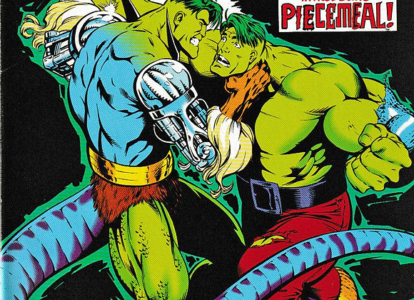 The Incredible Hulk Issue/ # 407Introducing Piecemeal Marvel Comics