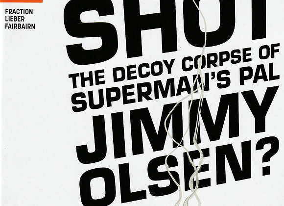 Superman Pal Jimmy Olsen Issue/ # 3 Who Shot Jimmy Olsen DC Comics - Comics