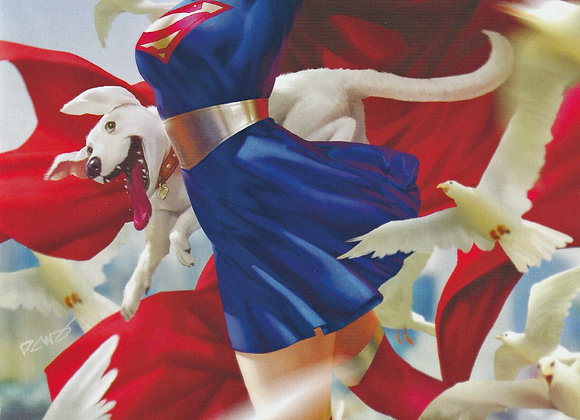 Supergirl Issue/ # 34 Hunted By Leviathan Variant Cover DC Comics - Comics