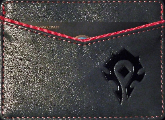 World Of Warcraft W.O.W Horde Travel Wallet Horde Logo - Accessories