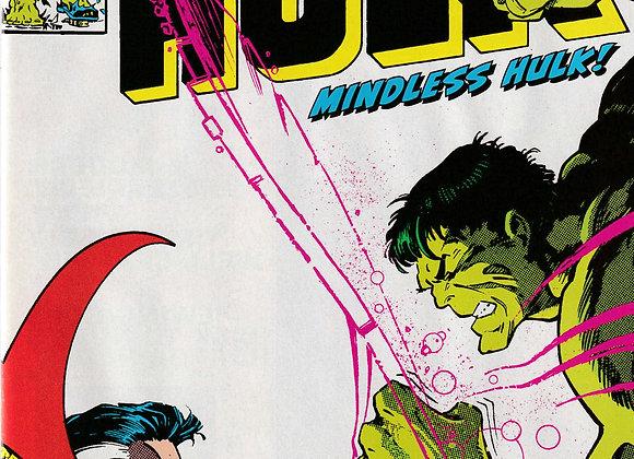True Believers The Incredible Hulk Mindless Hulk Issue/ # 1 Marvel Comics