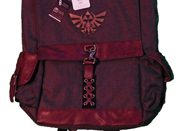 Gaming Nintendo The Legend Of Zelda Square Backpack - Accessories