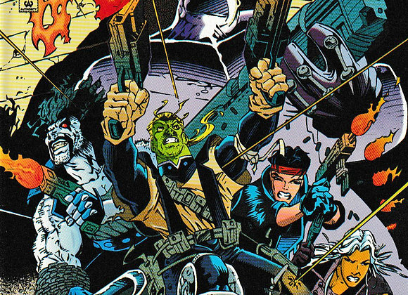 R.E.B.E.L.S 94 The Beginning Of Tomorrow Issue/ # 0 DC Comics - Comics