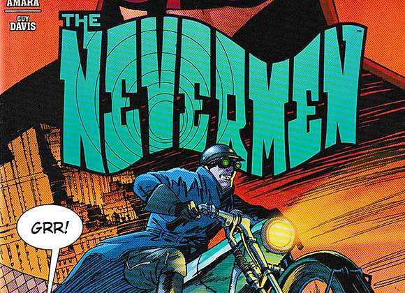 The Nevermen Issue/ # 3 Dark Horse Comics - Comics