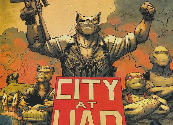 Teenage Mutant Ninja Turtles TMNT Issue/ # 98 City At War Part 6 IDW Comics