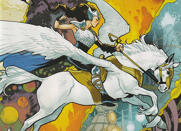 Valkyrie Jane Foster Issue/ # 3 An Epic Journey Through Multiversal  Afterlife
