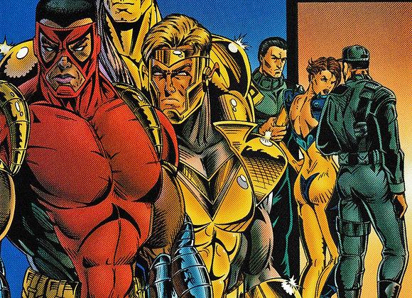 Judgment Day Issue/ # 8 Lightning Comics - Comics