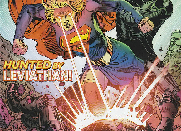 Supergirl Issue/ # 34 Hunted By Leviathan DC Comics - Comics