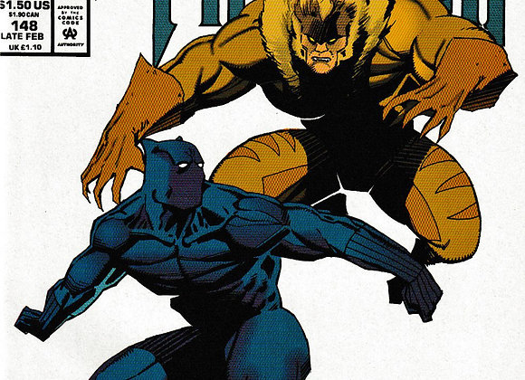 Marvel Comics Presents Black Panther & Vengeance Marvel Comics - Comics