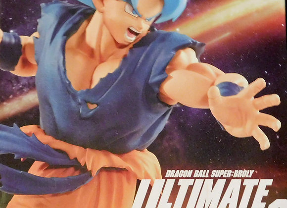 Dragon Ball - DB Super Movie Ultimate Soldiers Super Saiyan God Goku Figure