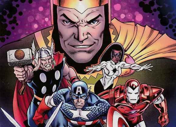 The Avengers Loki Unleashed Issue/ # 1 Variant Edition  Marvel Comics -Comics