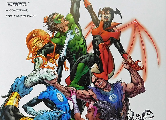 New 52 Green Lantern New Guardians Volume 1 The Ring Bearer DC Universe - Comics