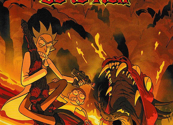 Rick And Morty Go To Hell Issue/ # 2 Oni Press Comic - Comics